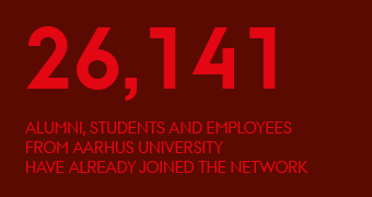 26,141 alumni, students and employees from Aarhus University have already joined the network