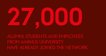 27,000 alumni, students and employees from Aarhus University have already joined the network