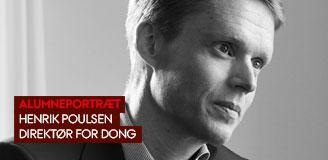 Henrik Poulsen, direktør for DONG
