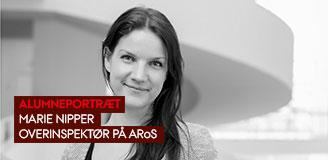 Marie Nipper, overinspektør på ARoS
